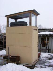 строим душ на даче