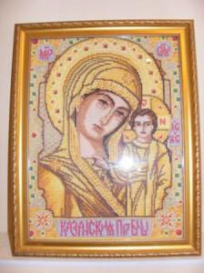 вышивка крестом иконы фото, вышивка крестом готовые работы купить