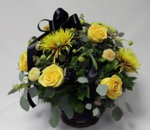 скабиоза для траурных корзин цветов